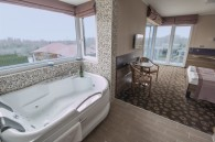 Romantische dagen in Exclusive kamer met jacuzzi